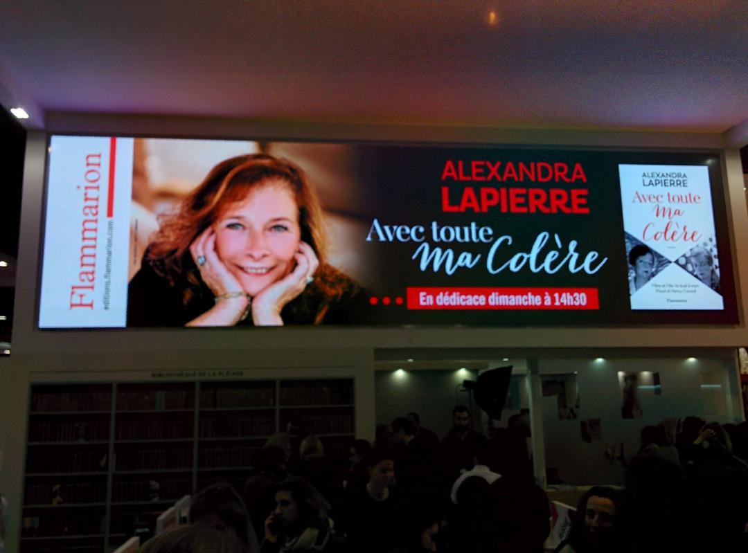 Salon du livre Alexandra Lapierre